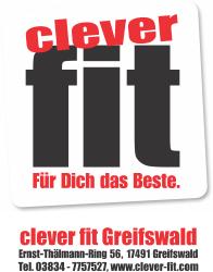 clever fit Fitnessstudio Greifswald