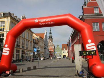 Info-Blatt für die Läuferinnen und Läufer des 9. Greifswalder Citylaufs