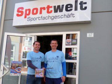 """Citylauf-Tombola in Greifswalder """"Sportwelt"""""""