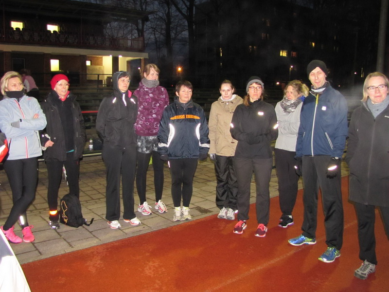 Laufkurs für Anfänger zur Vorbereitung auf den 10. Citylauf begann