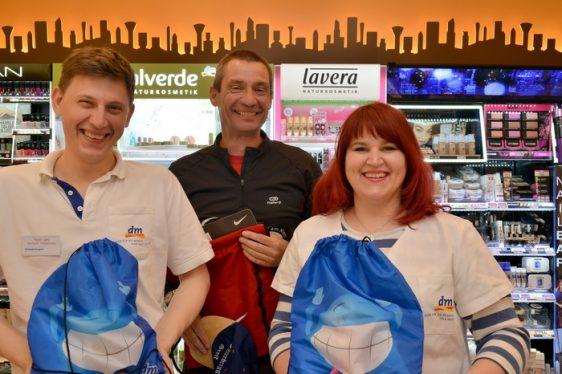 Citylauf Tombola 2017: dritte Verlosung im Greifswalder dm-Markt
