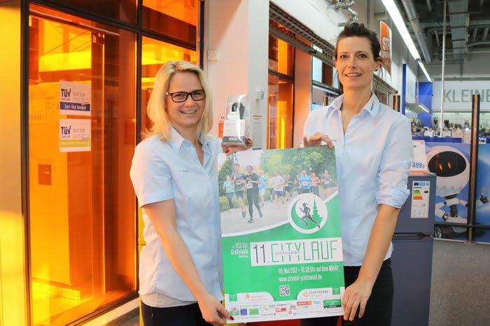 Citylauf Tombola 2017: Verlosung im expert-Markt Neuenkirchen