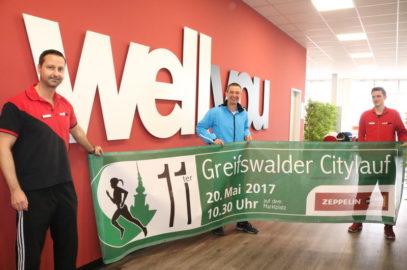 Citylauf Tombola 2017: zweite Verlosung im Greifswalder Fitnessstudio wellyou