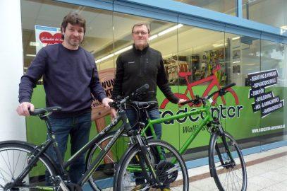 Fahrräder für die Citylaufsieger