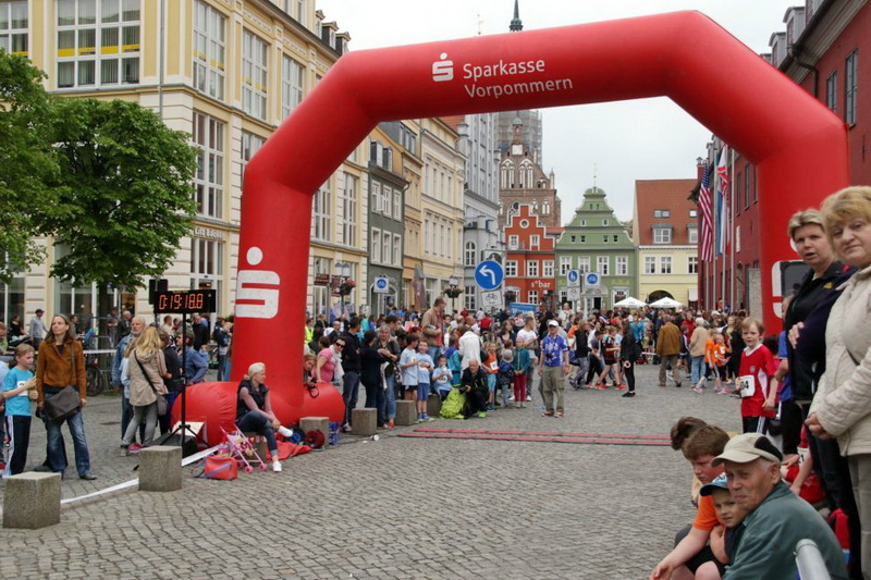 Info-Blatt für die Läuferinnen und Läufer des 11. Greifswalder Citylaufs