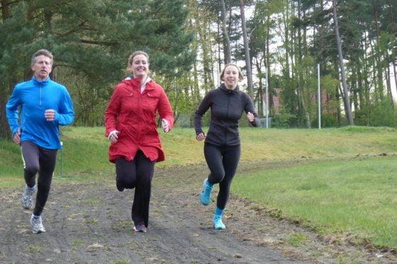 Lubmin: Das Lauf-Team der EWN GmbH Lubmin bereitet sich auf den Citylauf vor
