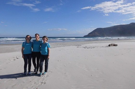 PhyloGgenies bereiteten sich in Neuseeland auf den Citylauf vor