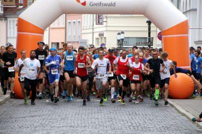 Beim 12. Greifswalder Citylauf Teilnehmerrekord bei den Staffeln