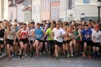 Start zu den 10 km beim 8. Greifswalder Citylauf 2014