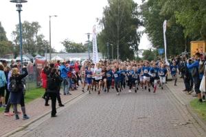 Bilder vom Start - Sparkassen-Schulpokal 2021