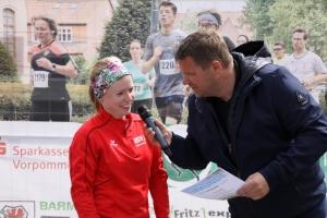 Bilder von den Siegerehrungen im Rahmen des 11. Greifswalder Citylaufs 2017